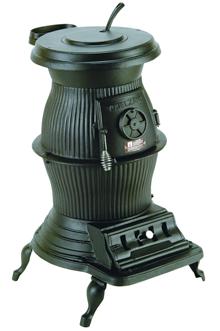 Large Voltzelgang Pot Belly Coal Stove