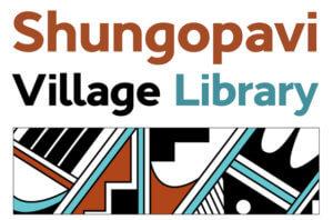 Shungopavi Village Library logo by Robert Harrison
